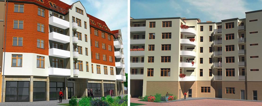 Nowe mieszkania, Szczecin, Centrum, 2-pokojowe, Kawalerki Na sprzedaż